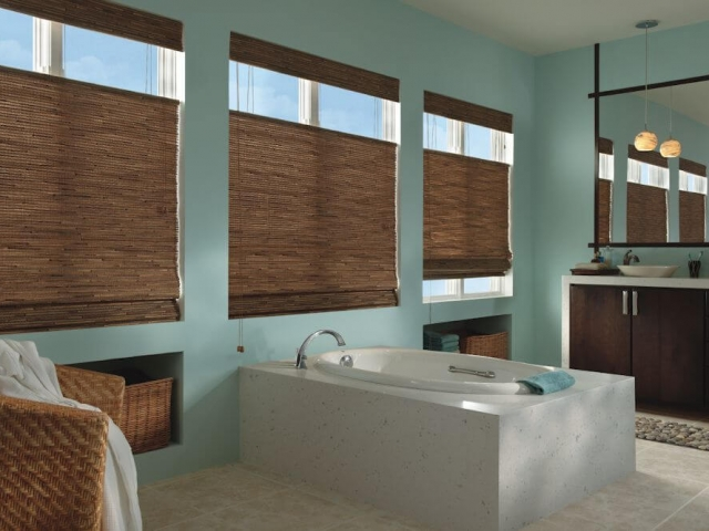 Woven Woods (Natural and Bamboo Shades)