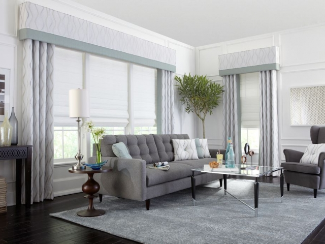 Upholstered Cornices